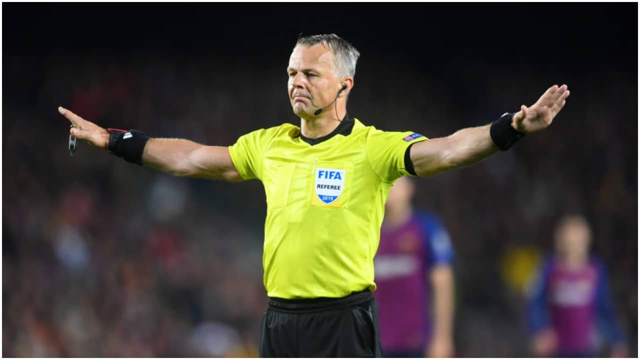 Bjorn Kuipers, el árbitro millonario del futbol en la final de la Euro 2020