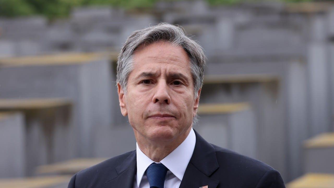 El secretario de Estado de EEUU, AntonyBlinken (Getty Images)