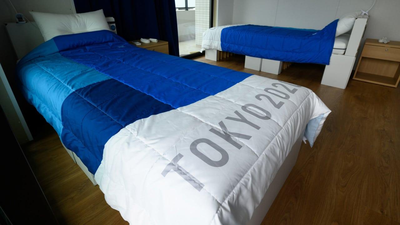 camas de cartón, Tokio 2020, Juegos Olímpicos 2021, Villa Olímpica