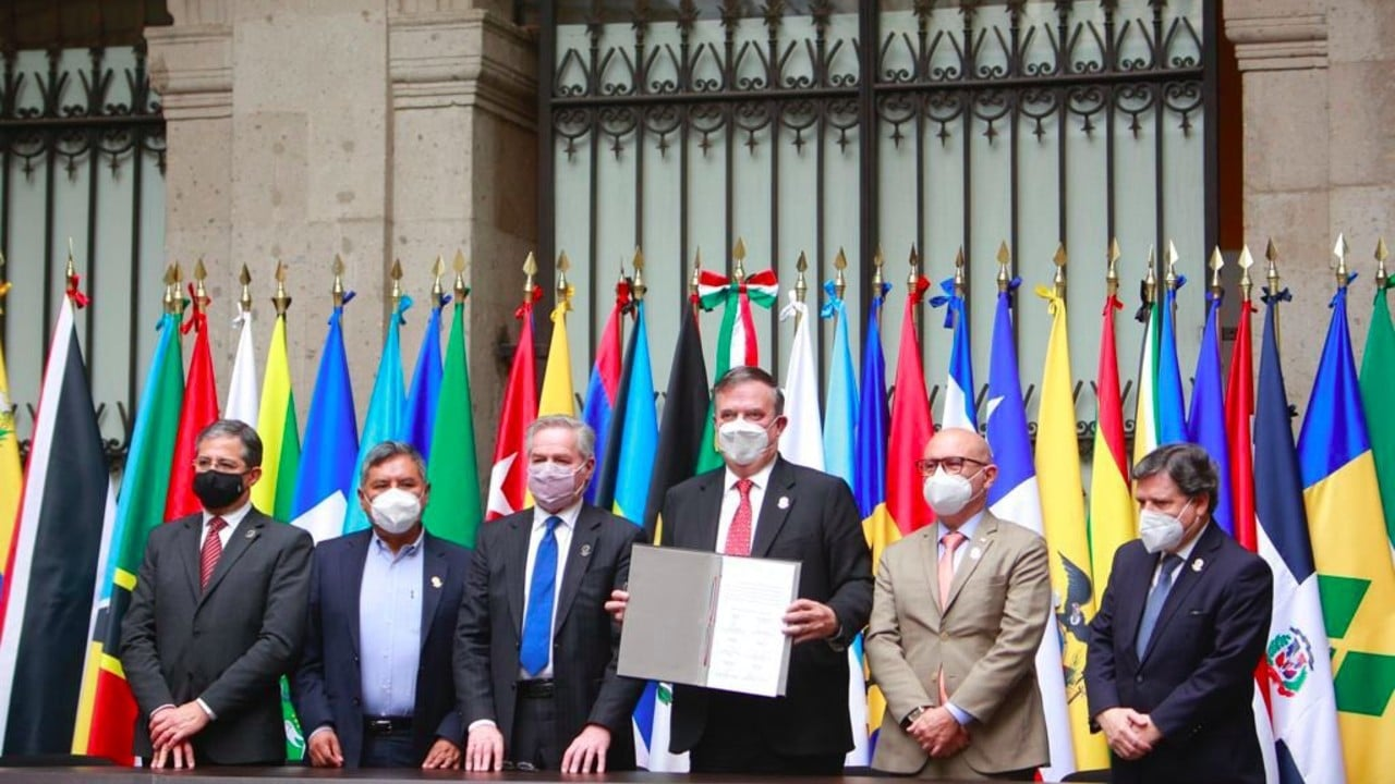 Cancilleres de la Celac acuerdan creación de la Agencia Latinoamericana y Caribeña del Espacio