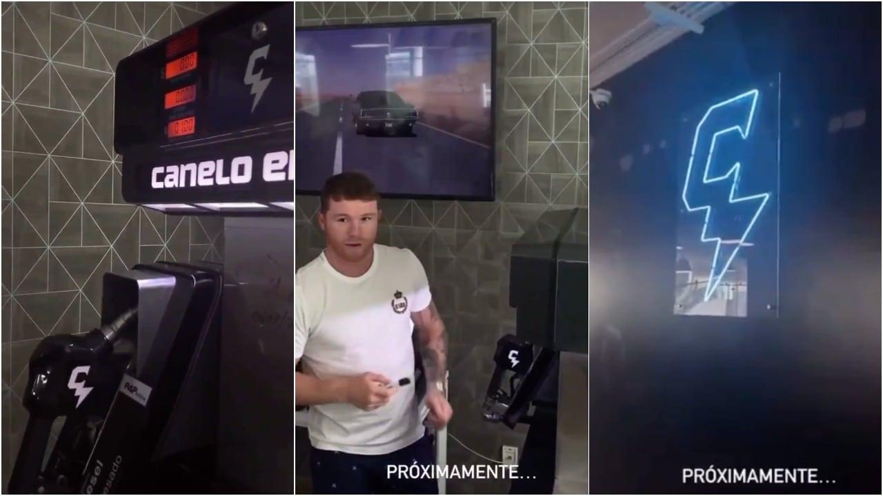 Canelo Energy Gasolineras Boxeador Video