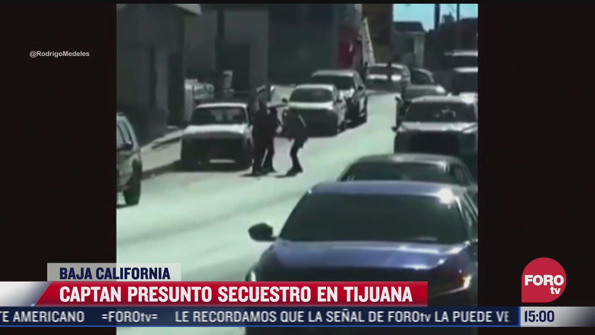 captan intento de secuestro en tijuana baja california