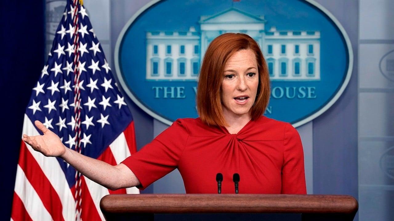 La vocera de la Casa Blanca, Jen Psaki (EFE)