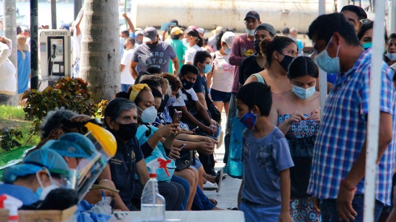 Se registra aumento de casos COVID-19 en el estado de Guerrero, México (Cuartoscuro)