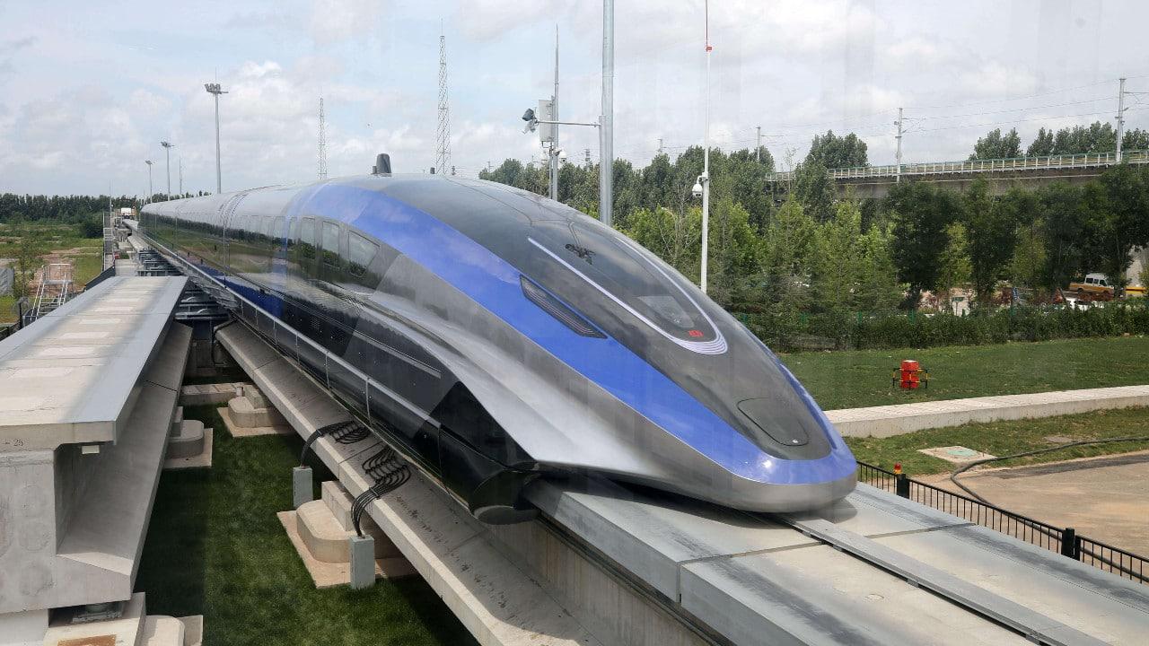 trenes, maglev, China, transportes