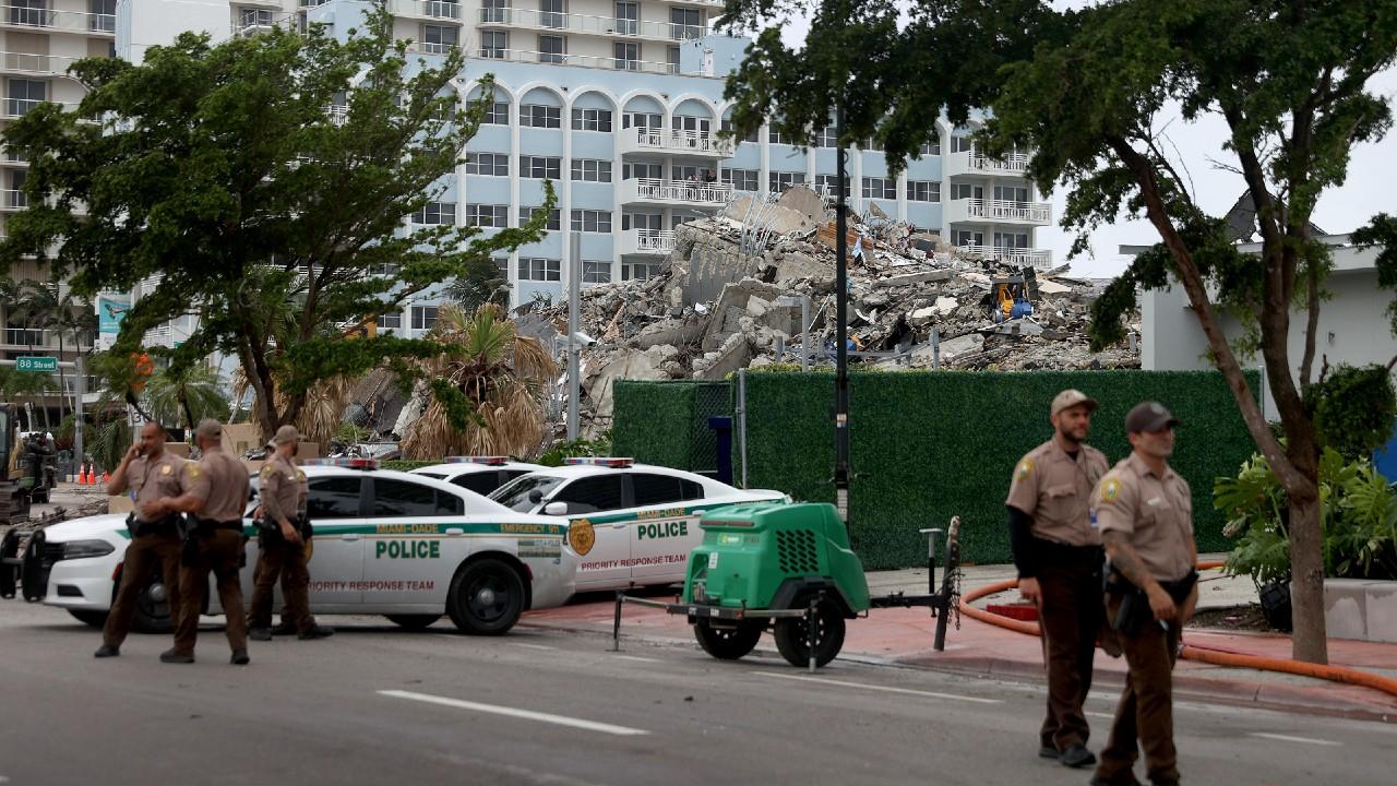 Cifra de muertos por derrumbe de edificio en Miami se eleva a 94