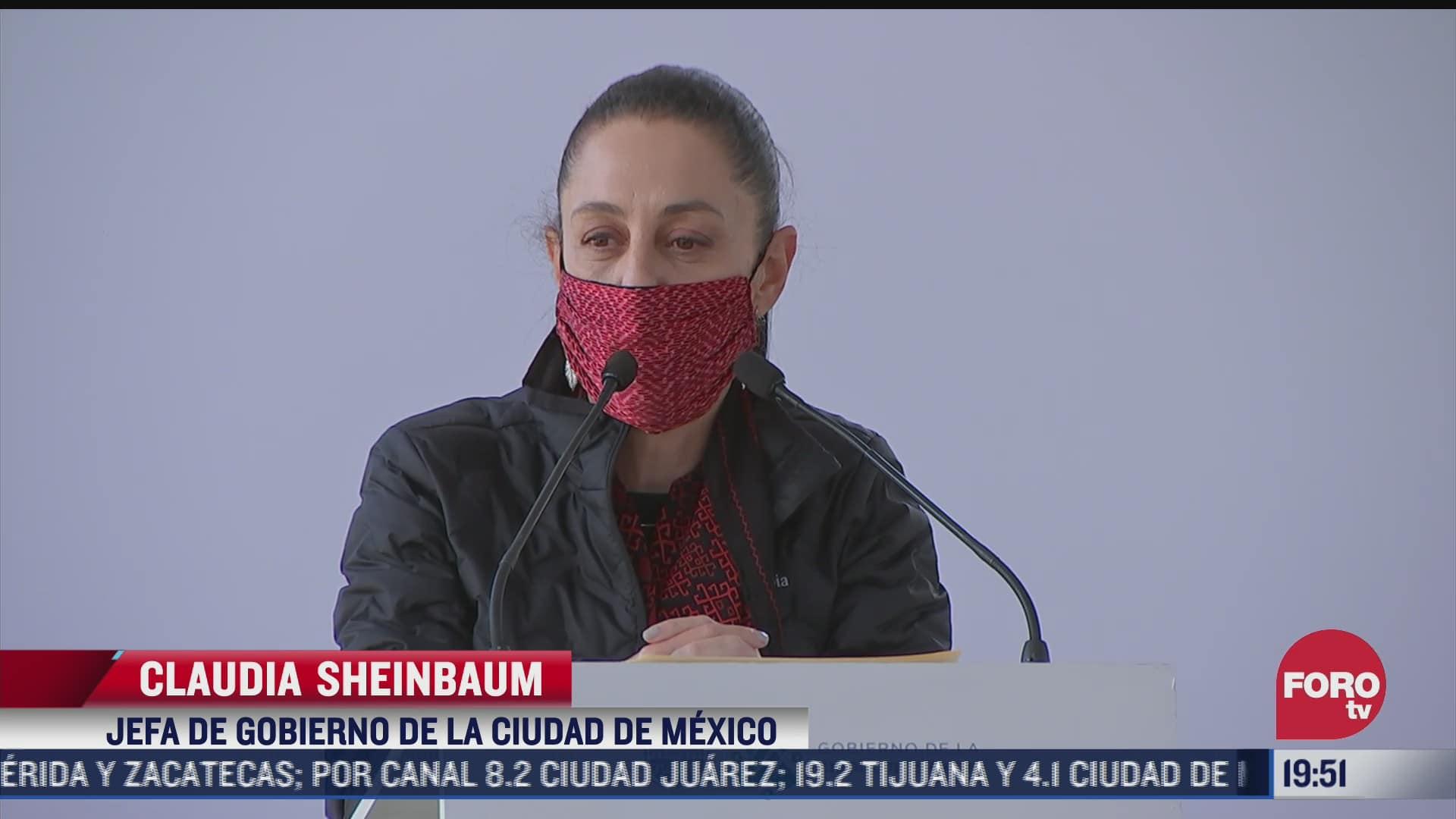 claudia sheinbaum recibe predio para nuevo cuartel de la guardia nacional en tlalpan