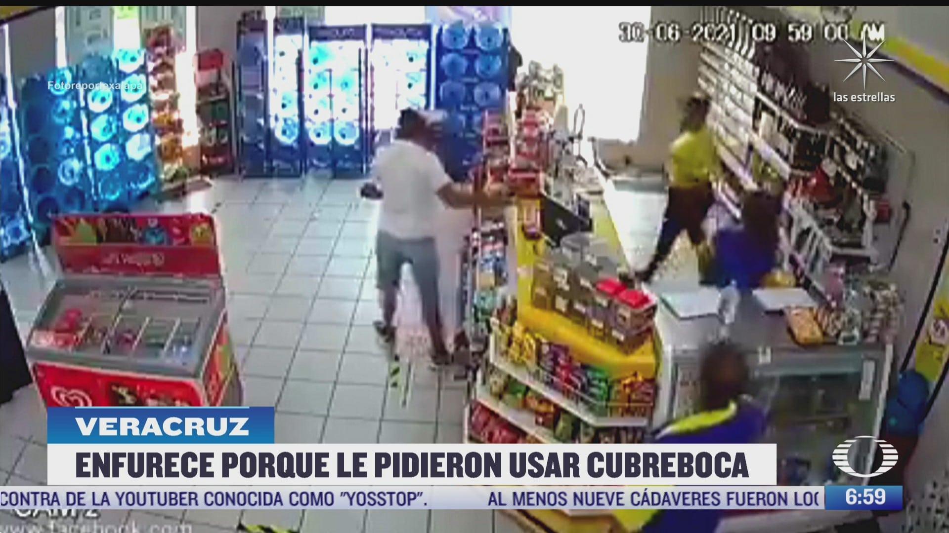 clienta golpea a cajera que le pidio usar cubrebocas