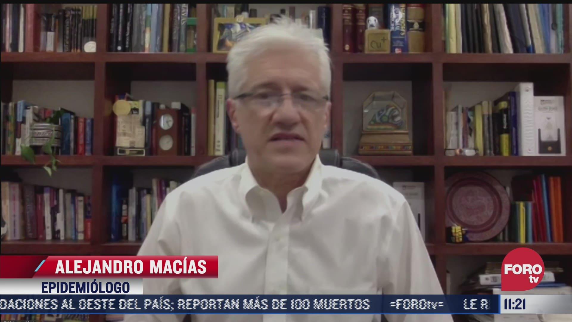 como va el manejo de la pandemia covid 19 en mexico