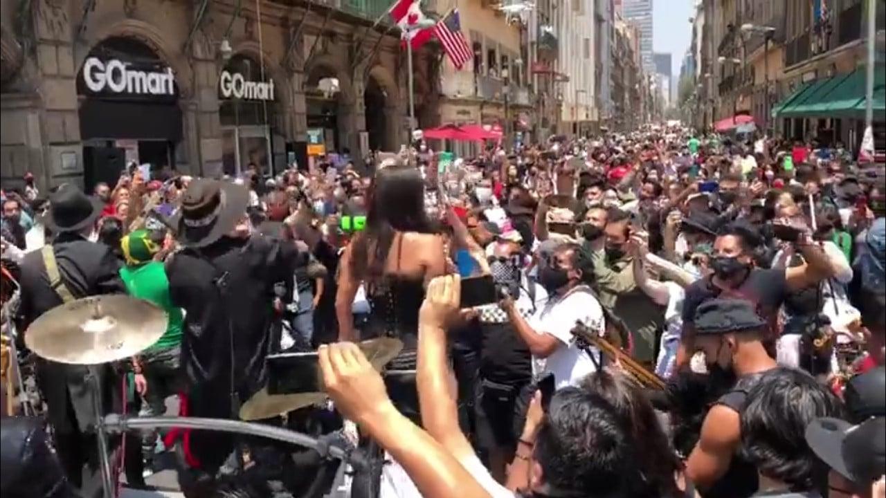 Maldita Vecindad, concierto, Centro, CDMX, captura de pantalla