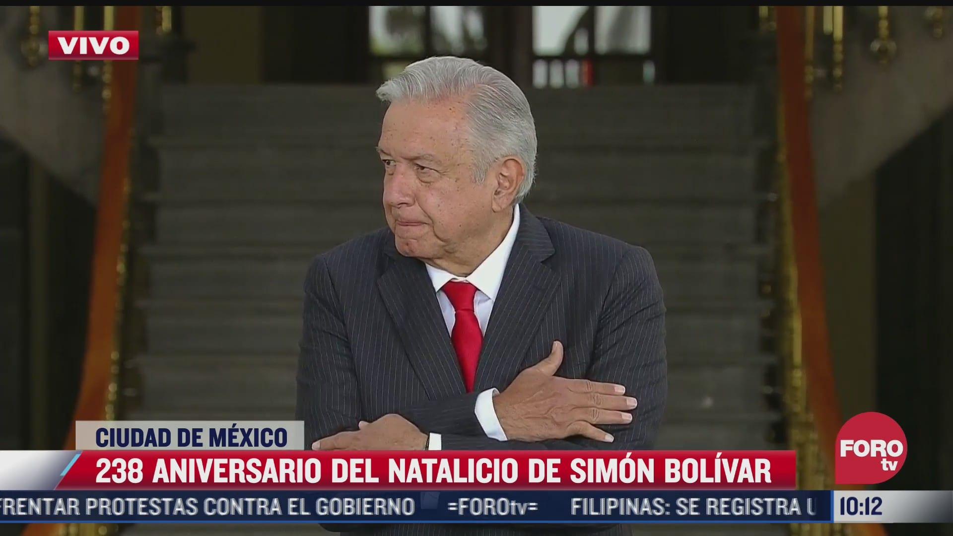 conmemoran 283 aniversario del natalicio de simon bolivar