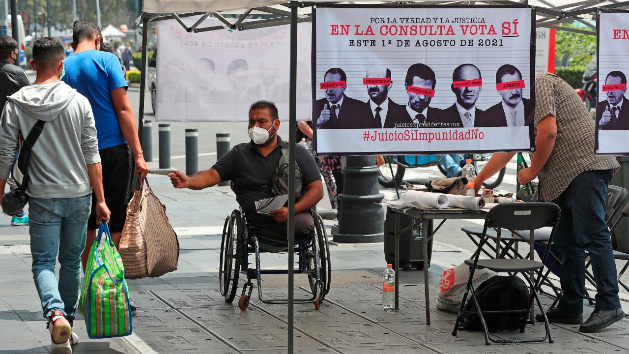 Activistas acusan a INE de no promover Consulta Popular 2021
