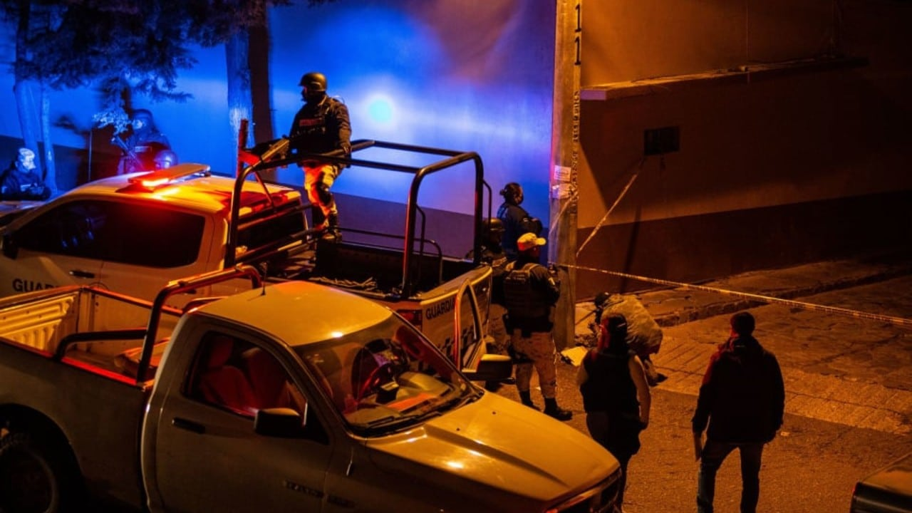 Continúa violencia en Zacatecas; asesinan a 8 personas en una fiesta
