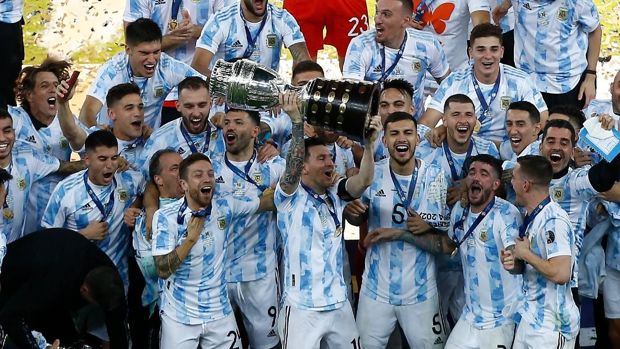 Argentina gana la Copa América a Brasil en el Maracaná