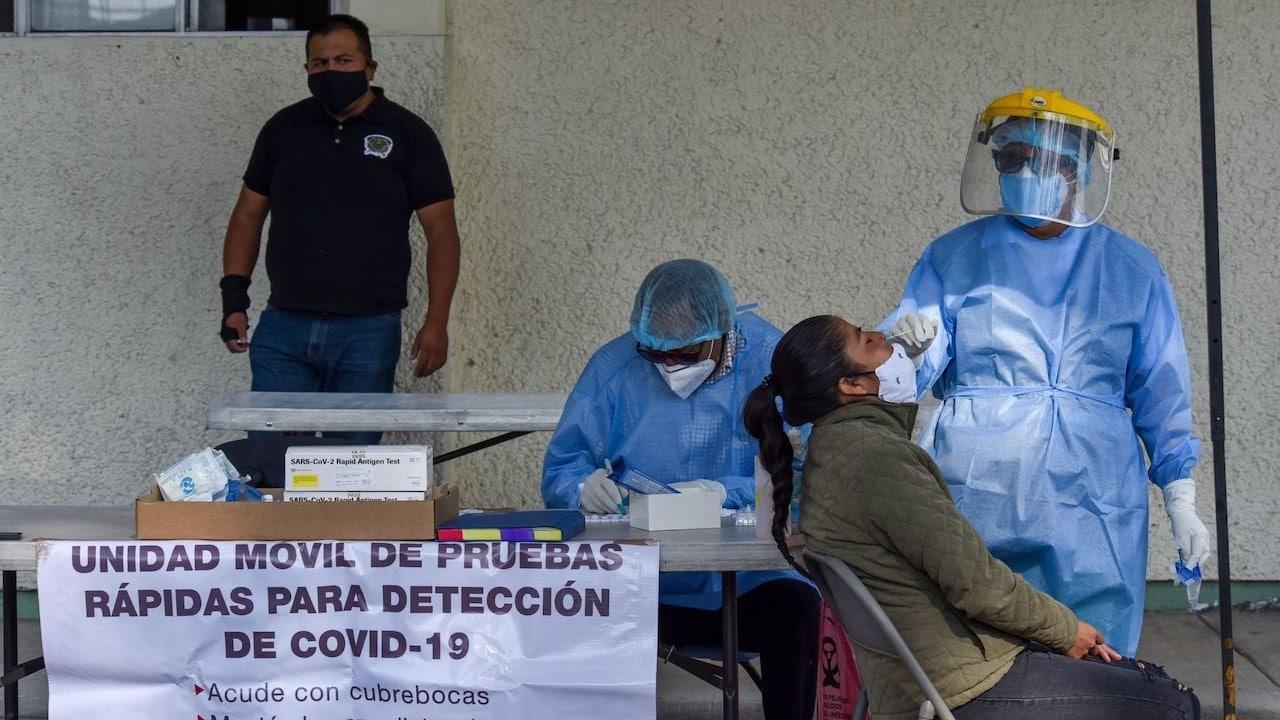 Pruebas COVID-19 en México (Cuartoscuro)