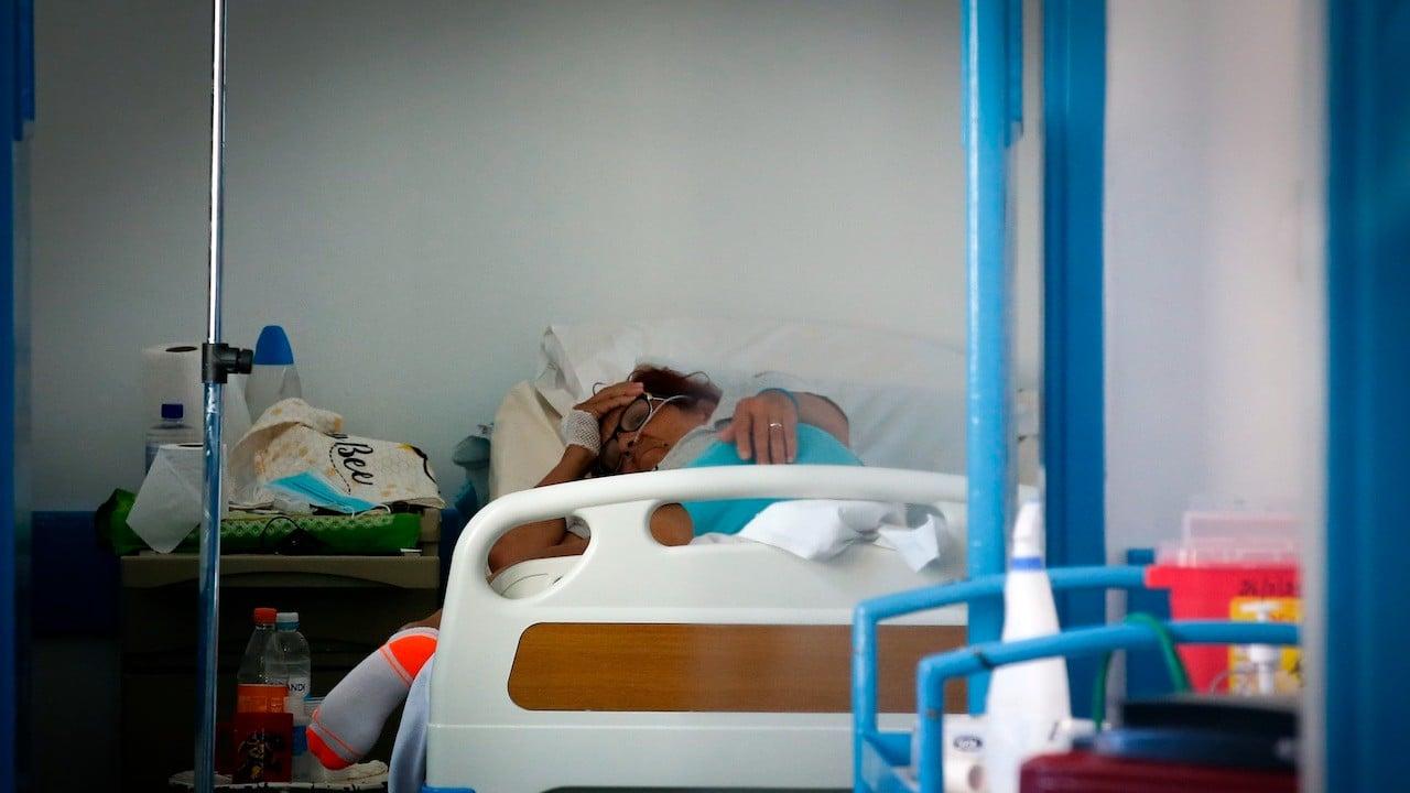 Área de Cuidados Intermedios del Hospital Público de Rivera en Rivera, Uruguay (EFE)