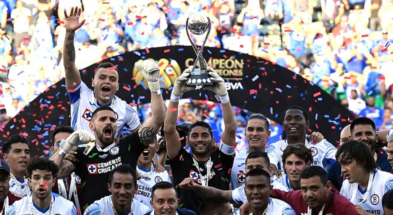 Cruz Azul se corona como campeón de campeones tras vencer a León (Getty images, archivo)
