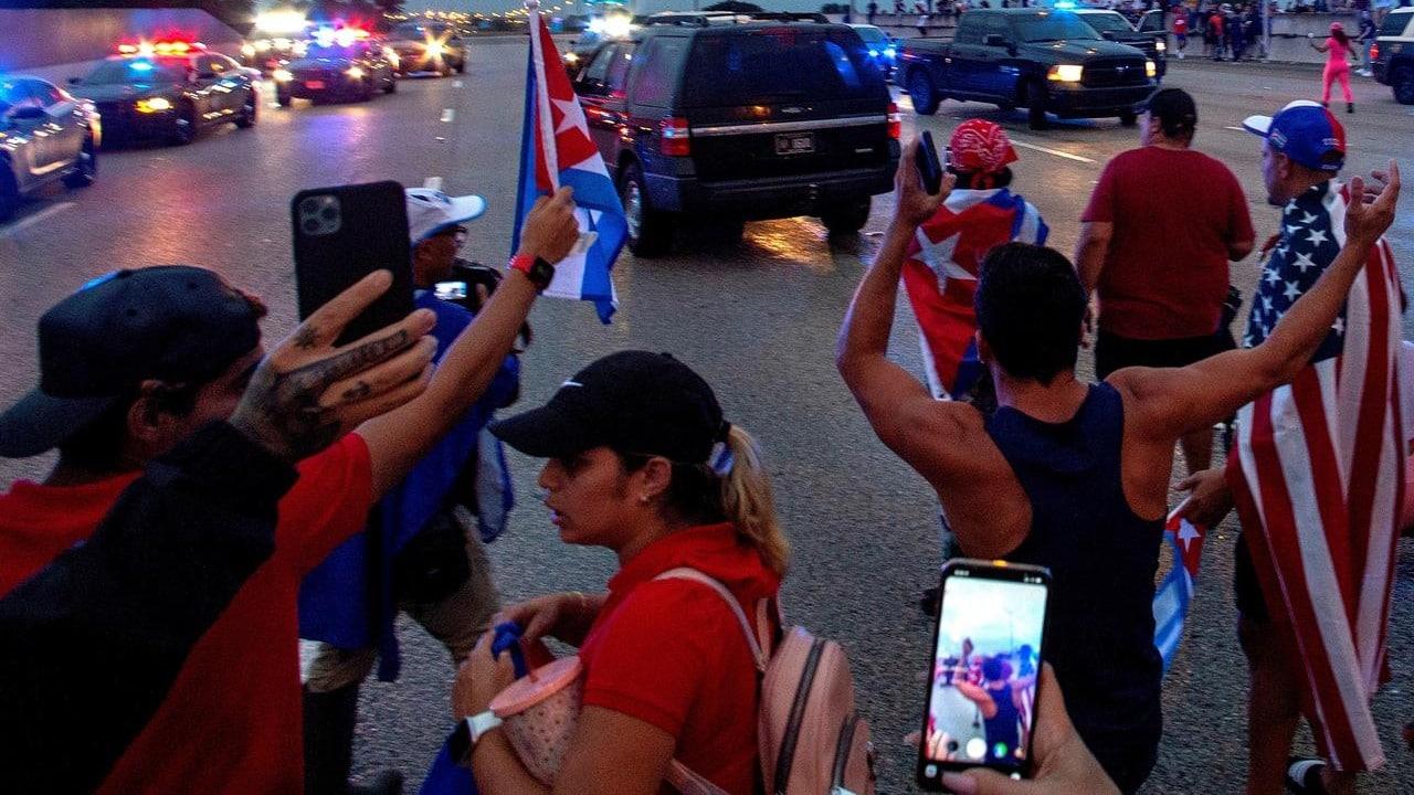 Cuba manifestacion