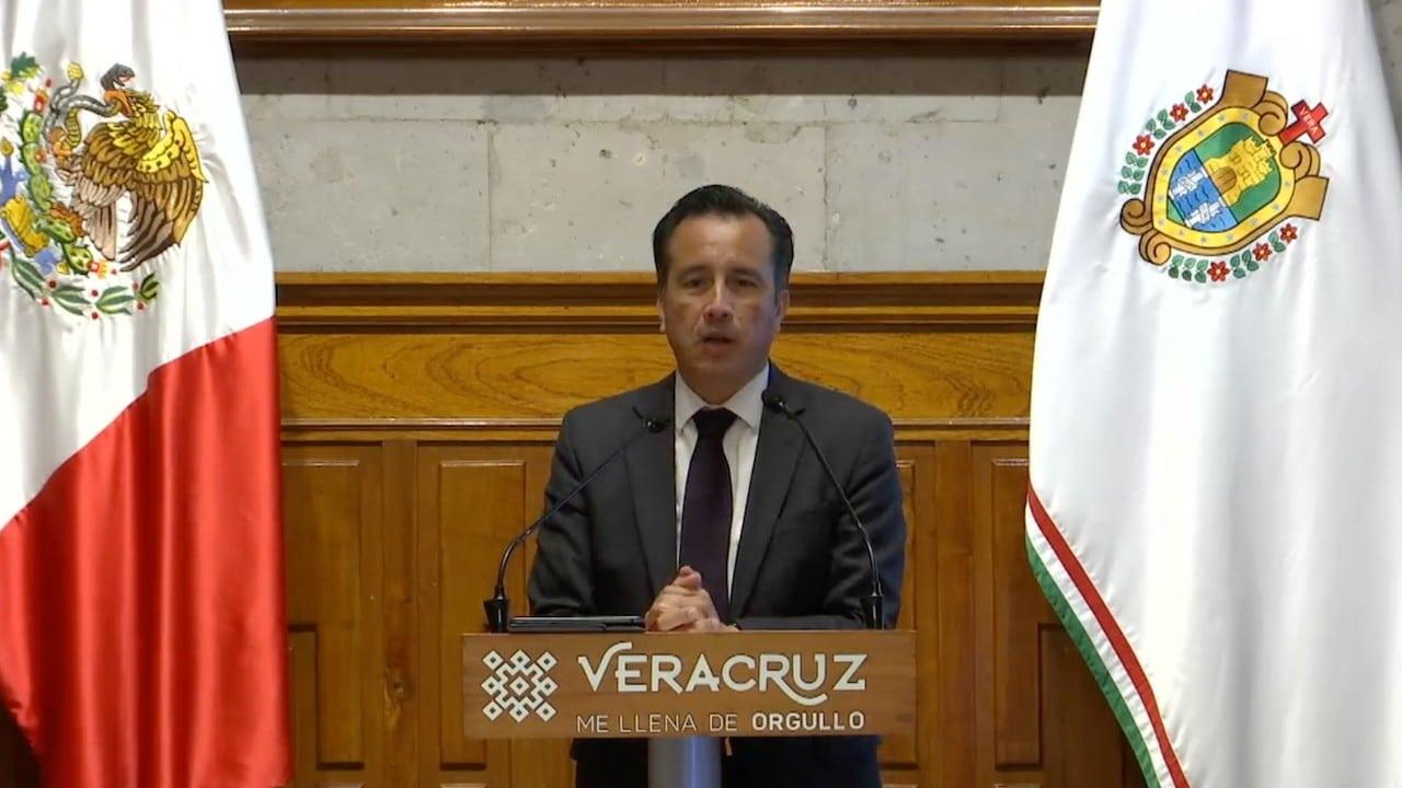 El gobernador de Veracruz, Cuitláhuac García Jiménez (Twitter: @CuitlahuacGJ)