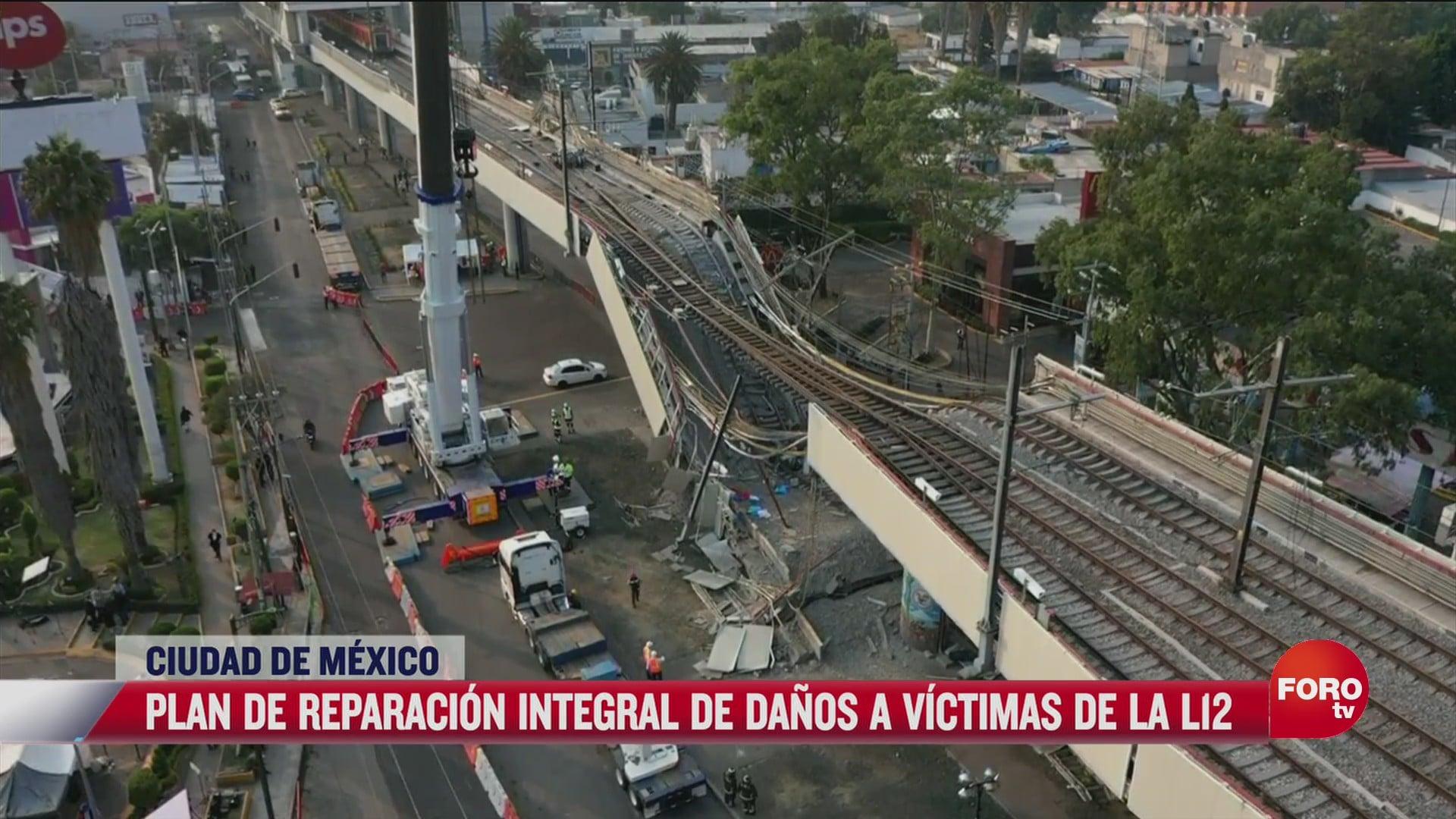 daran 1 millon de pesos a victimas por l12 del metro