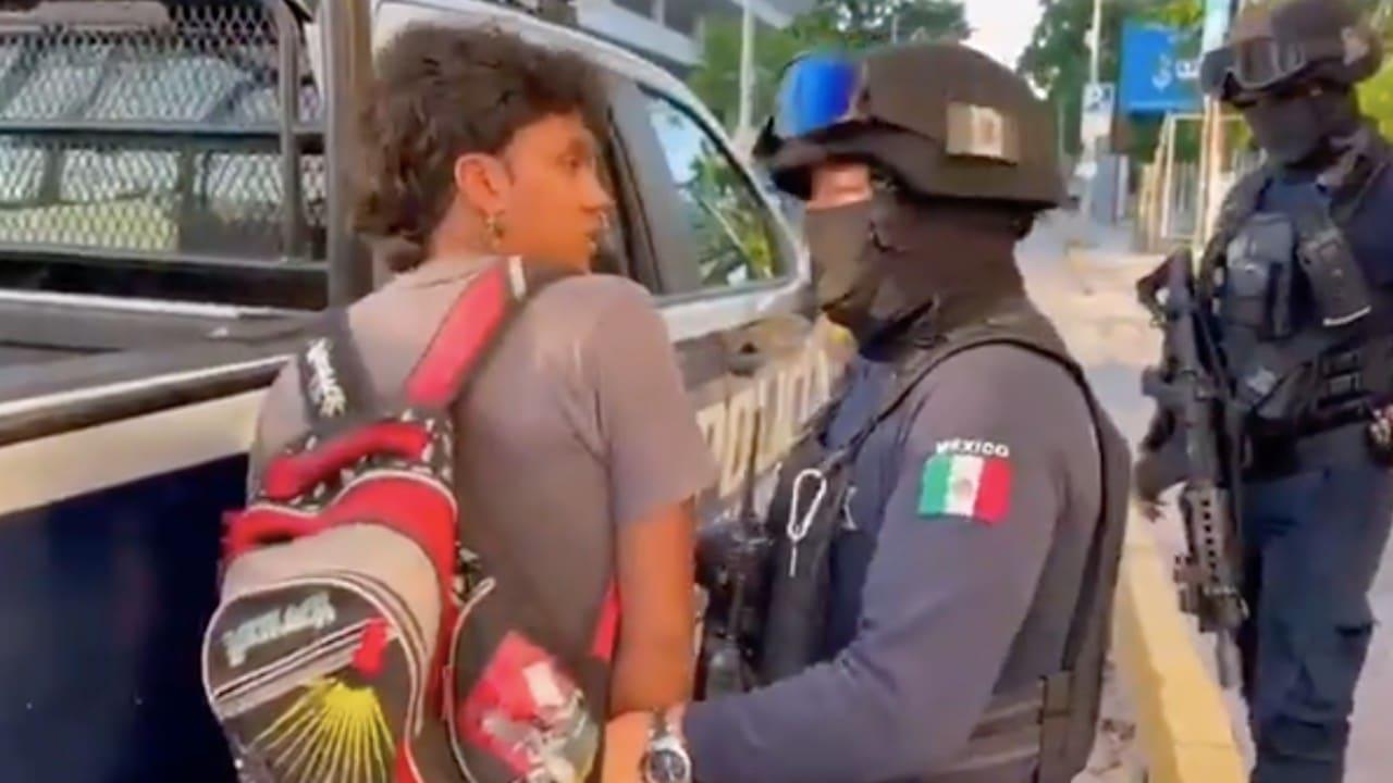 Denuncian que arrestos por no usar cubrebocas en Quintana Roo no se aplica a turistas y sí a pobladores