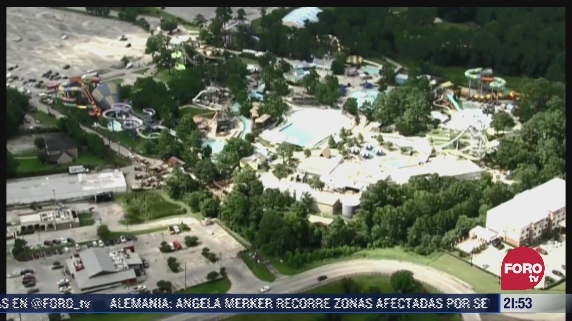 derrame quimico en parque acuatico en texas