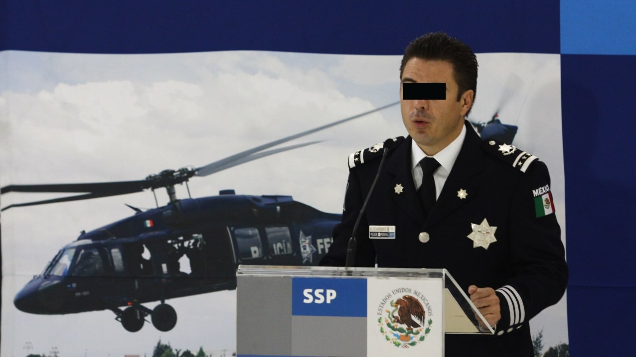 Detienen a Luis Cárdenas Palomino por el delito de tortura