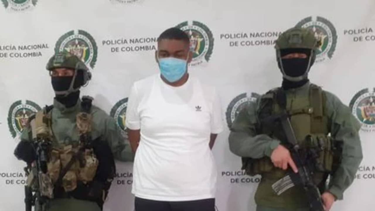Detienen a capo del narcotráfico del Clan del Golfo solicitado por EEUU para su extradición