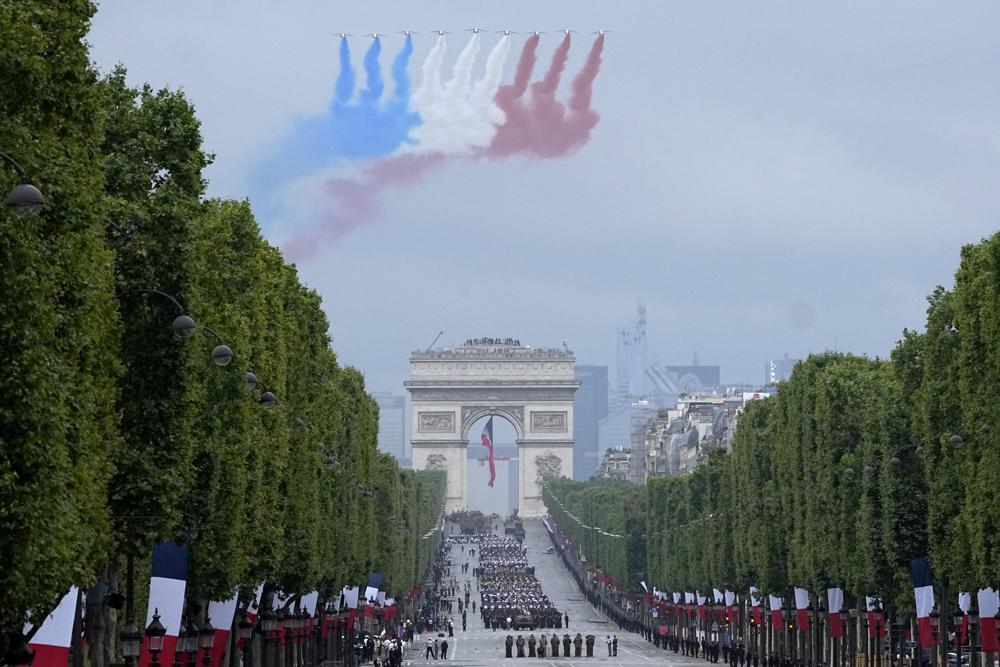 dia de la bastilla francia