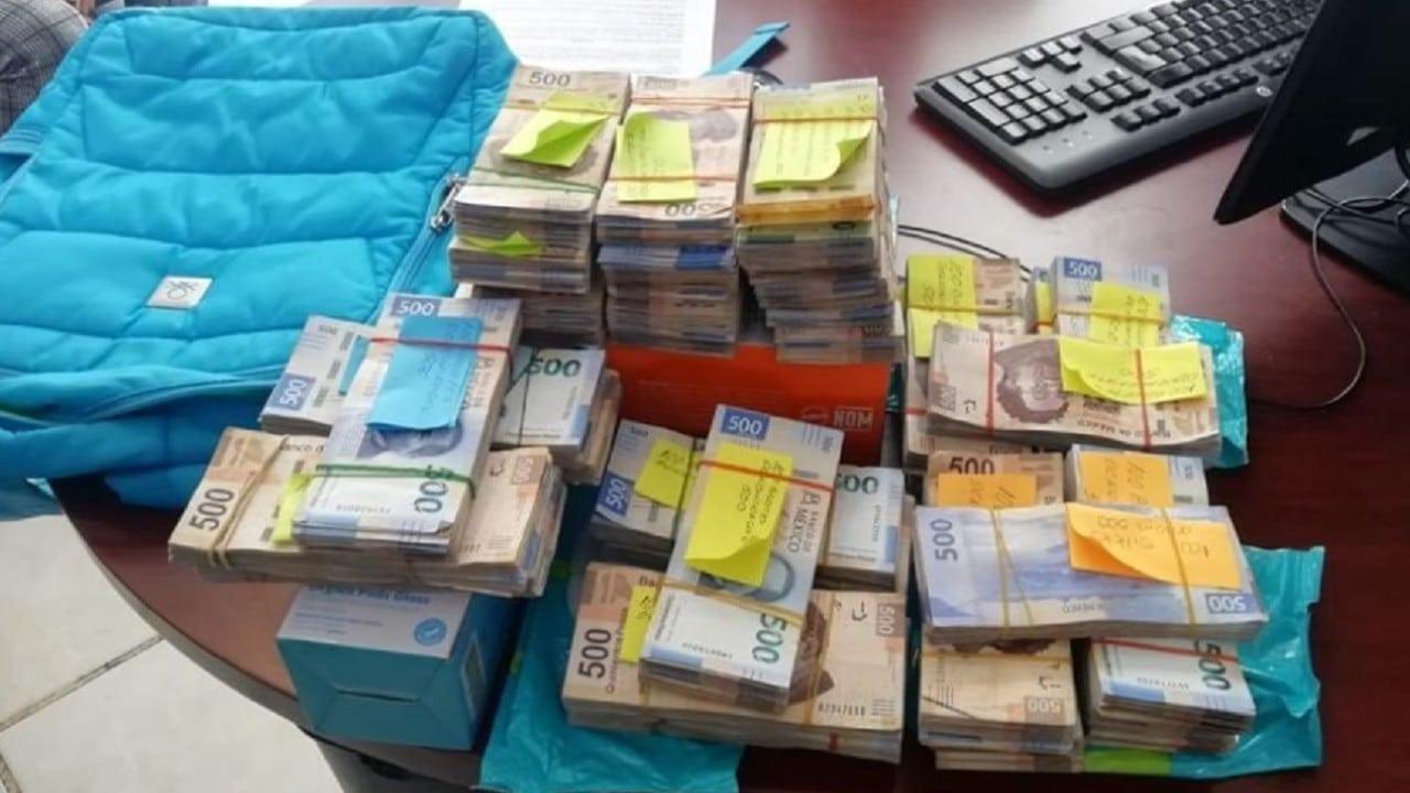 Aseguran 2 millones de pesos a un conductor en Guerrero