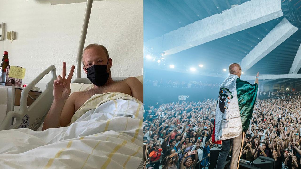 DJ Boris Brejcha fue hospitalizado tras conciertos en México