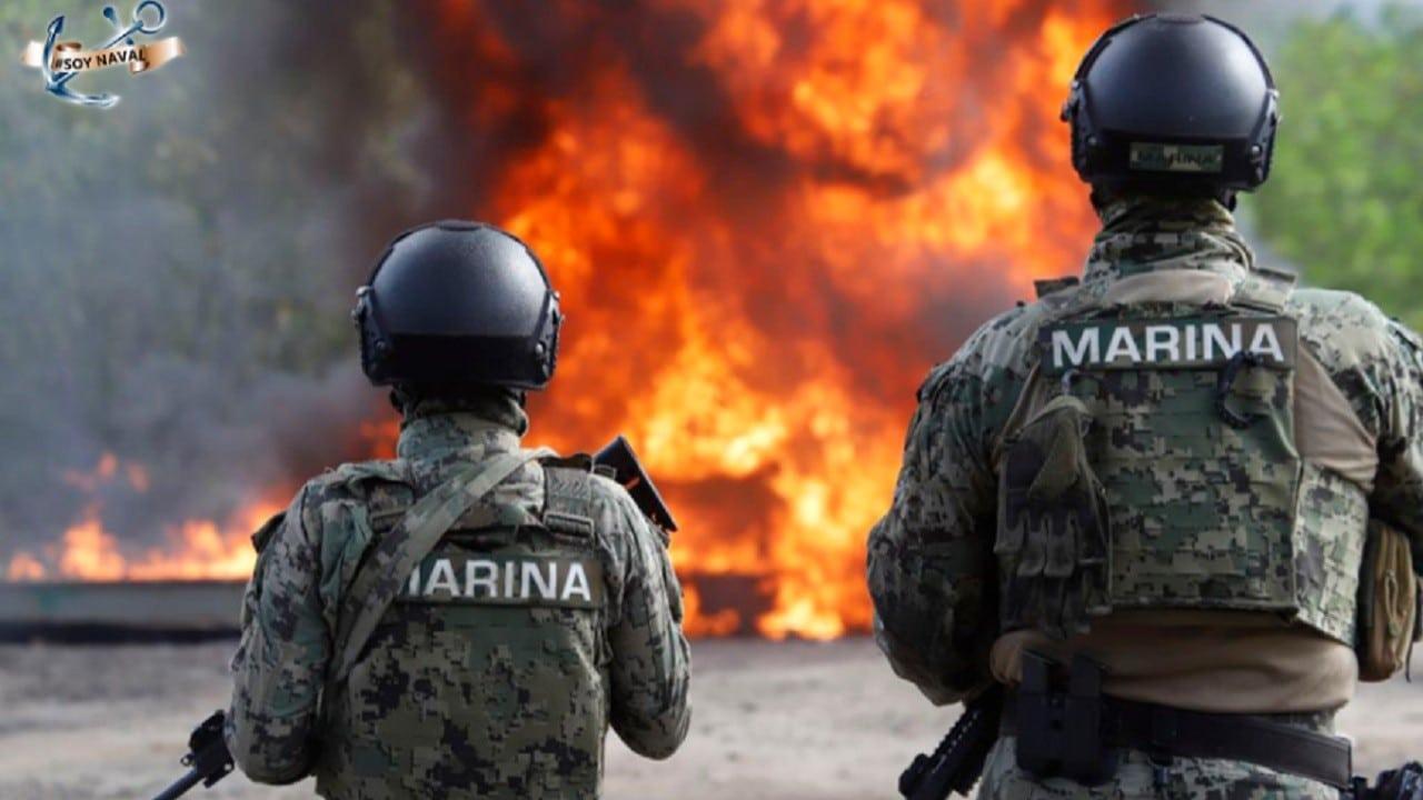 Incineran 730 kilogramos de cocaína en Michoacán