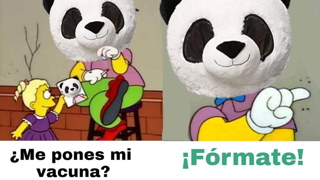 Pandemio Panda Redes Sociales Memes