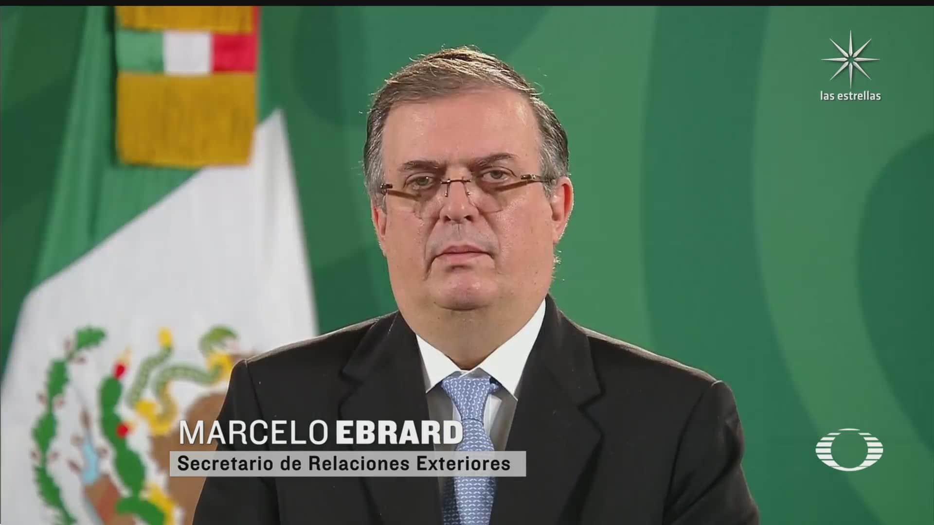ebrard reconoce intencion de contender por la presidencia en