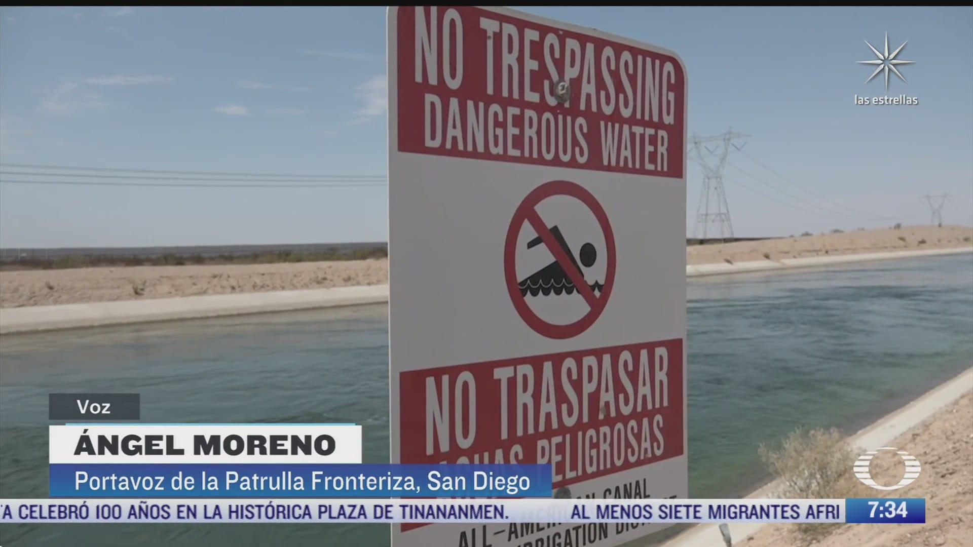 el canal americano el mas peligroso para los migrantes que intentan llegar a eeuu