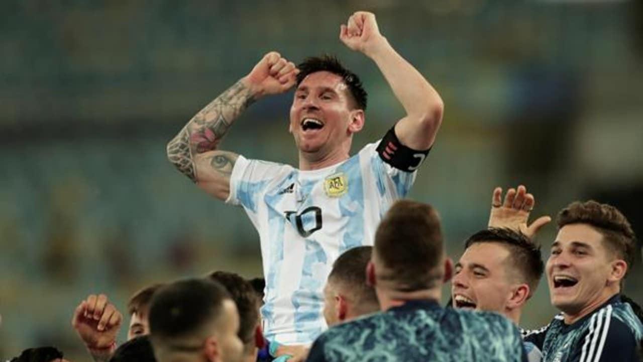 El futbolista Leo Messi