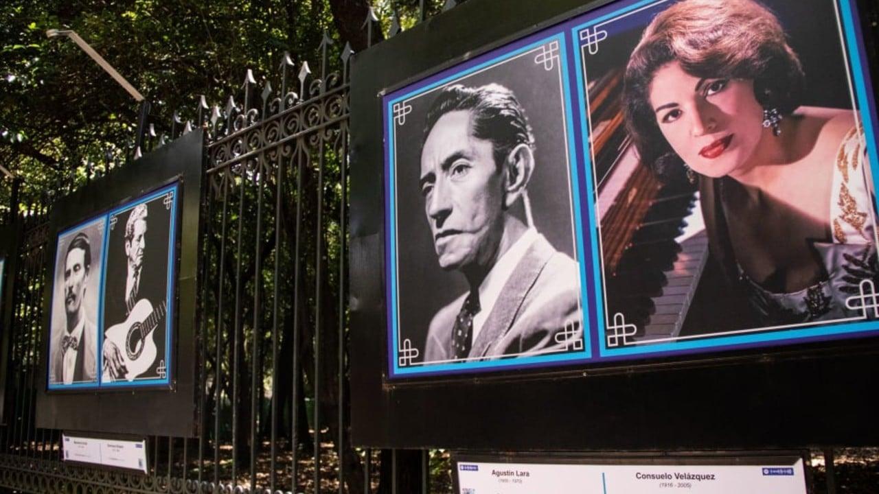 El Rostro del Autor, la expo que puedes disfrutar en las rejas de Chapultepec