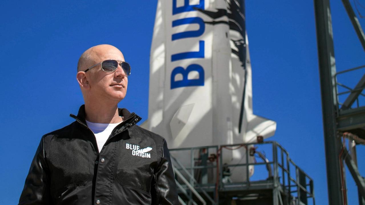 n Vivo_ Lanzamiento de Blue Origin, el vuelo de Jeff Bezos al espacio