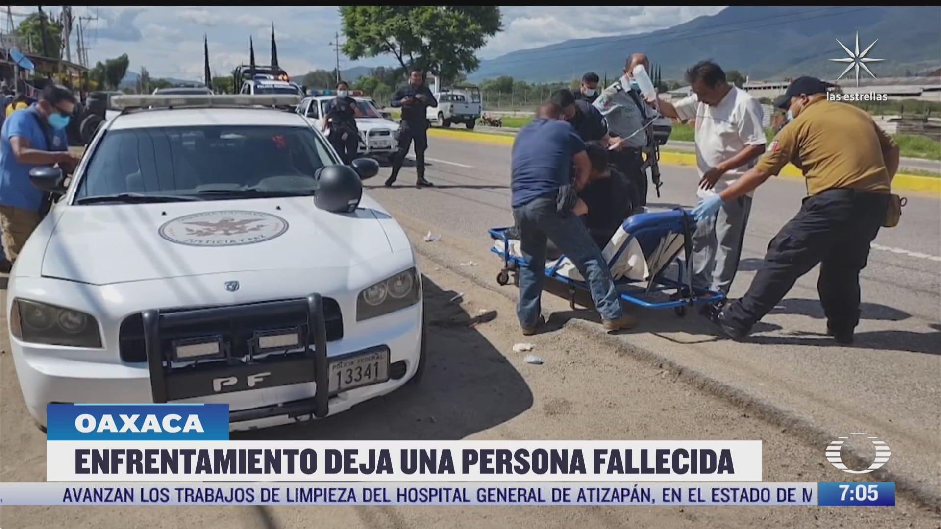 enfrentamiento entre gn y miembros de la agencia estatal de investigaciones deja un muerto en oaxaca