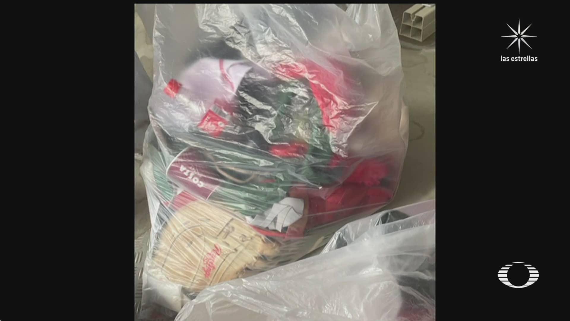 equipo de softball mexicano tira uniforme a la basura