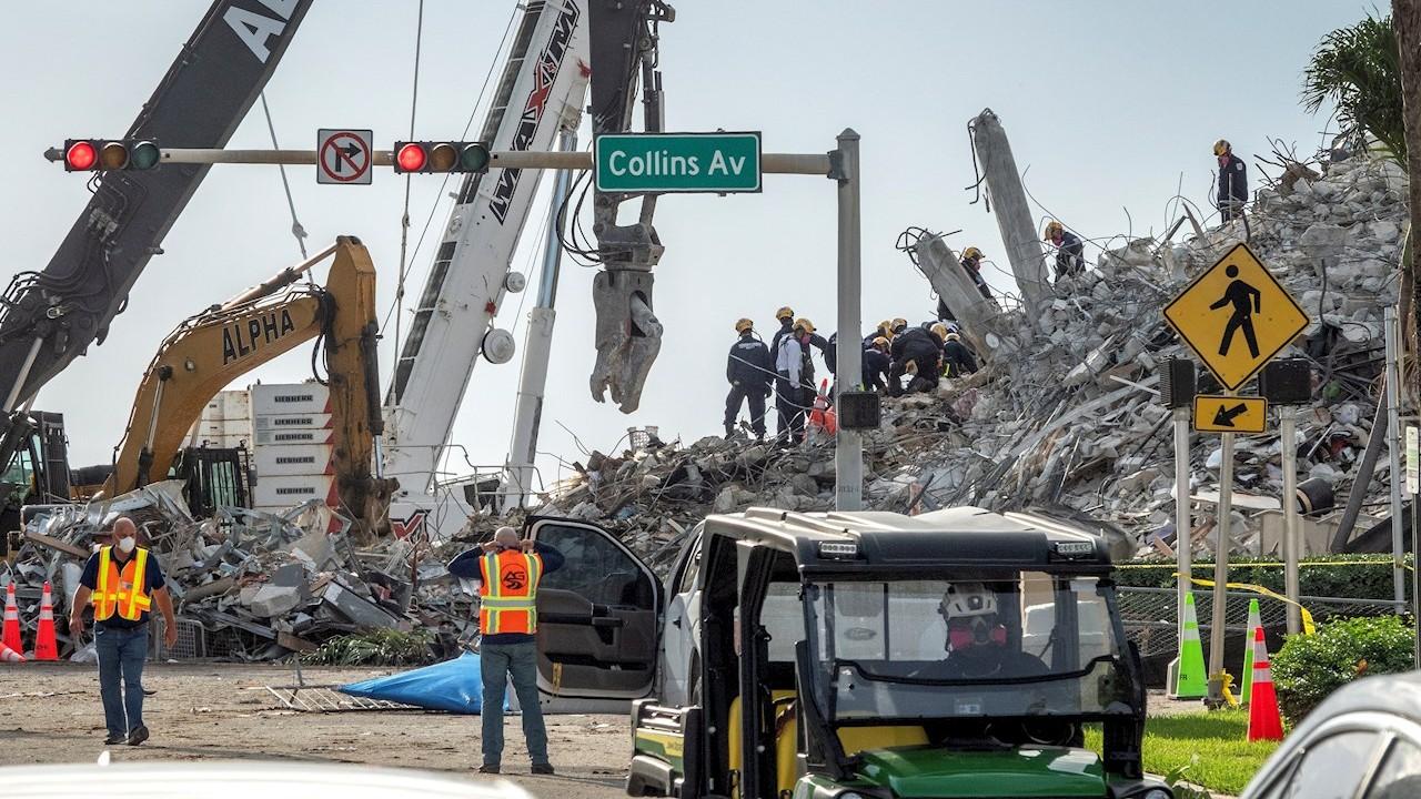 Autorizan venta del terreno del edificio derrumbado en Miami