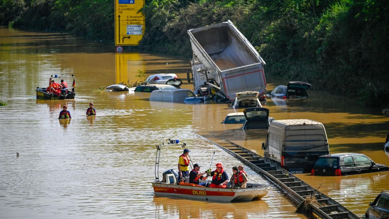 Suman 170 muertos por las inundaciones en Alemania y Bélgica