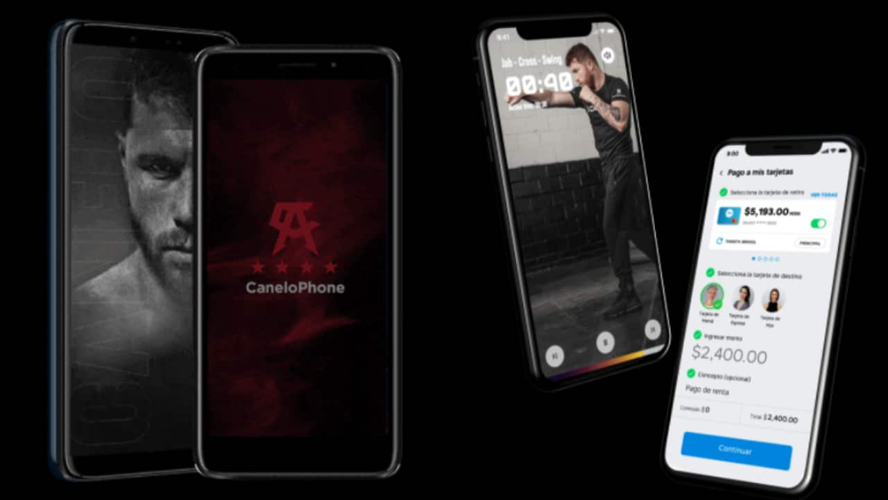 Saúl 'Canelo' Álvarez presenta su nueva marca de celulares