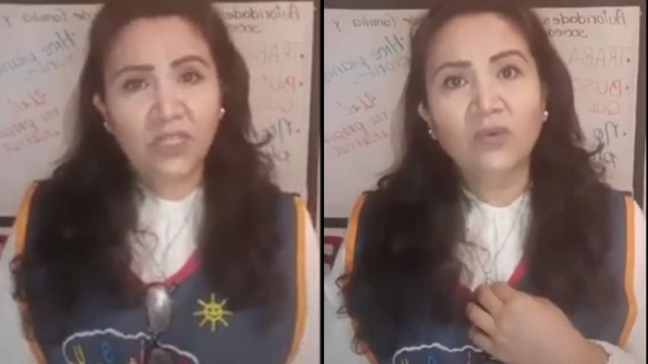 Viral: Maestra critica falta de apoyo en clases virtuales