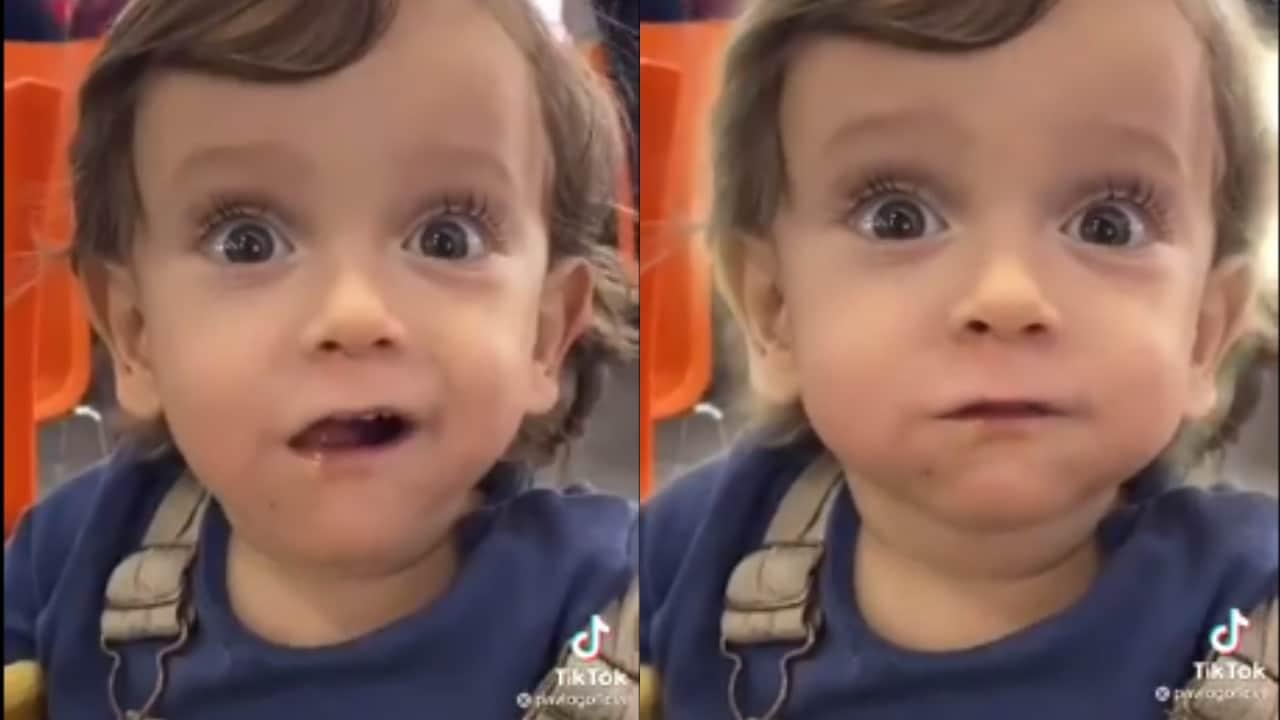 Video viral: Niño come un taco al pastor por primera vez