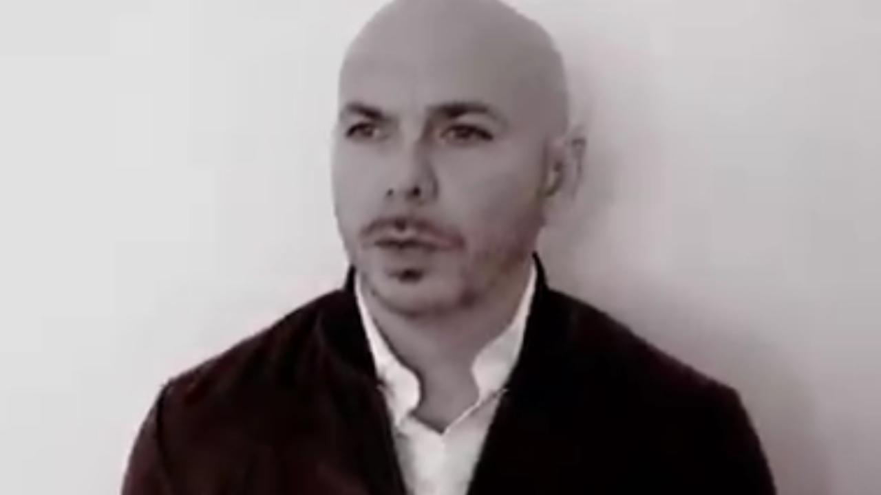 Video: Pitbull da mensaje sobre protestas en Cuba