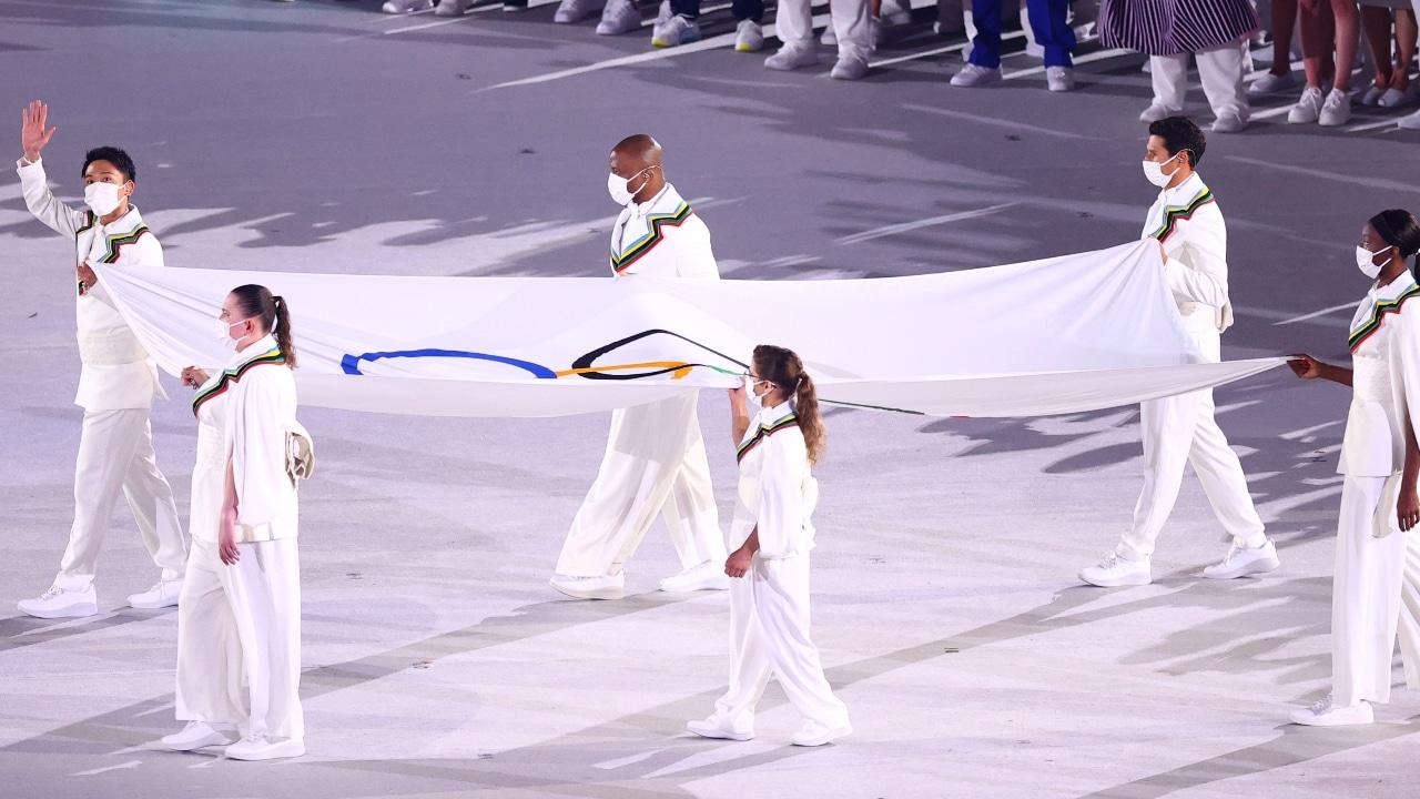 Qué música se escuchó en el desfile de los Juegos Olímpicos