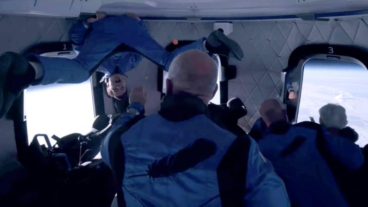 Fotos: Así se vivió el viaje al espacio de Jeff Bezos en la nave de Blue Origin