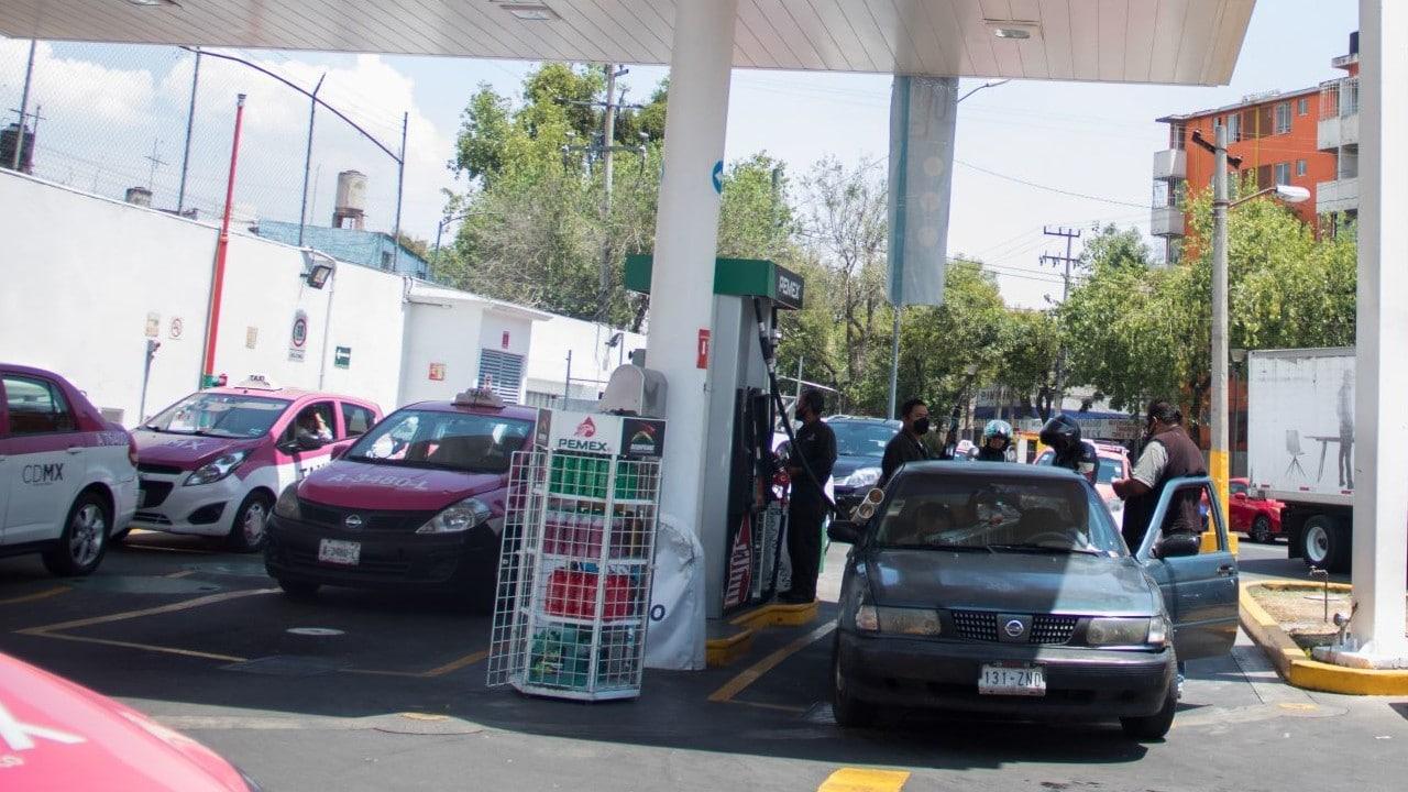 gasolina cdmx