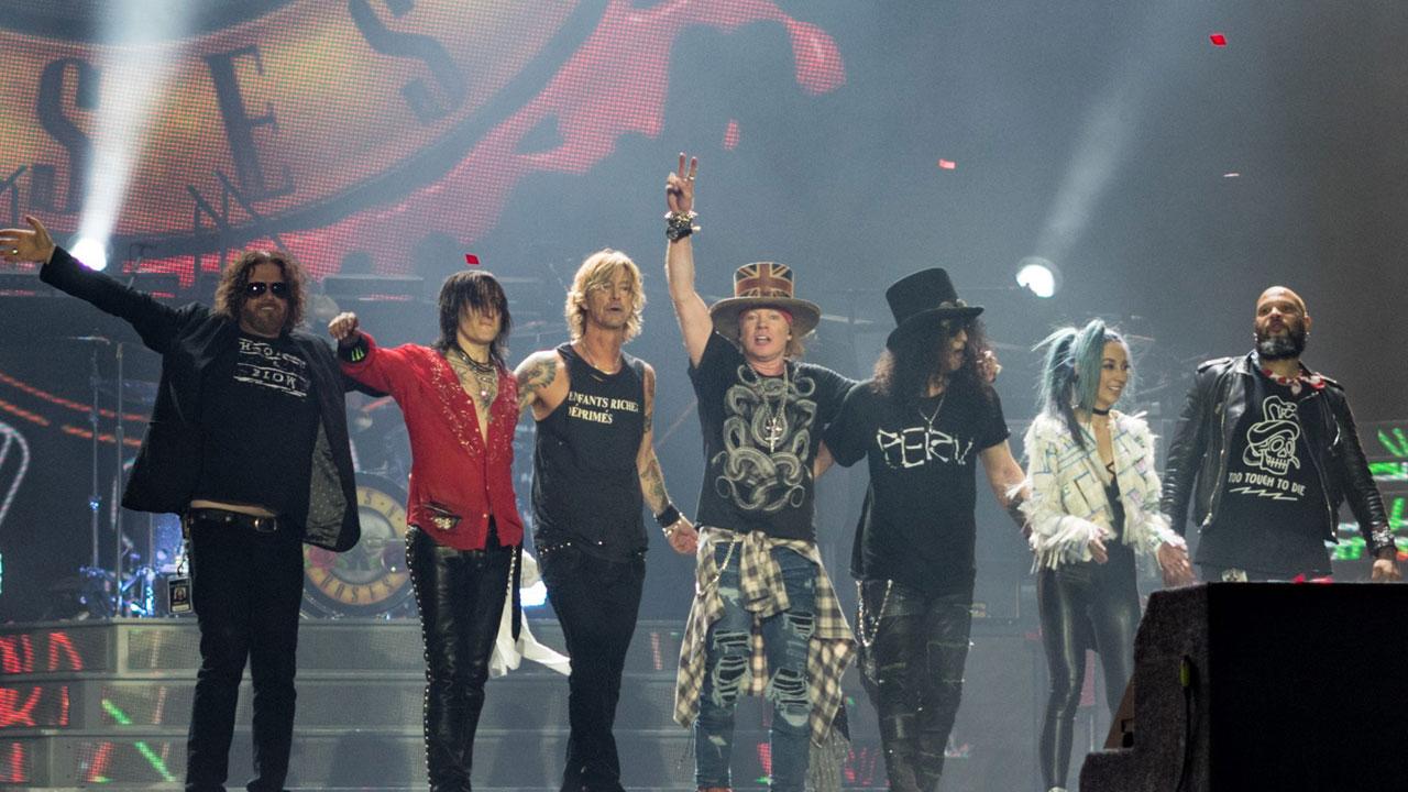 Guns N' Roses regresa a México con conciertos Merida